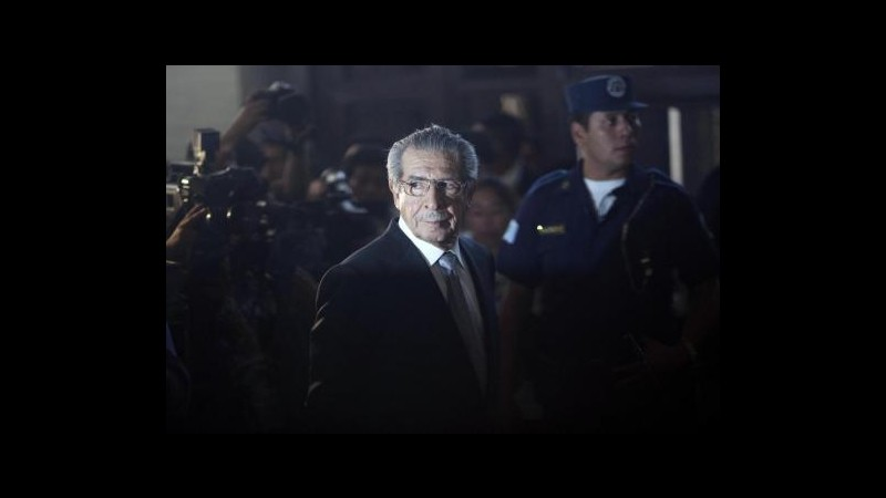 Guatemala, ex dittatore Rios Montt sarà processato per genocidio
