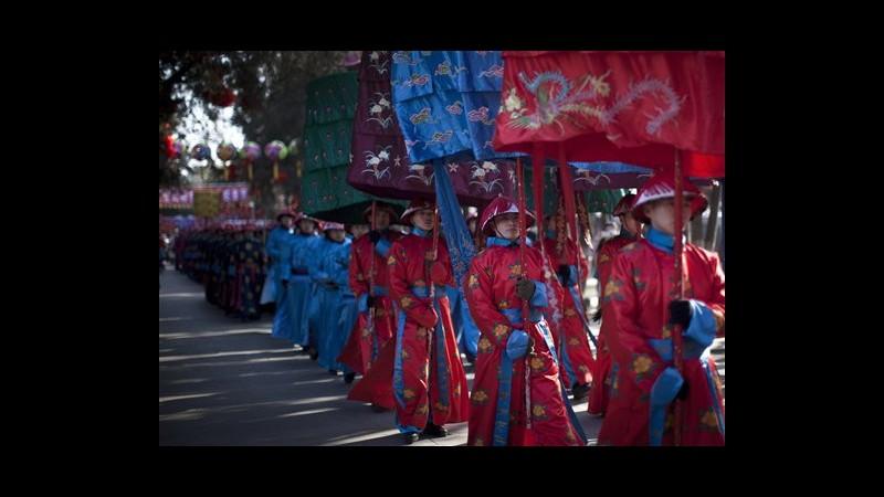 Asia celebra inizio anno del Drago