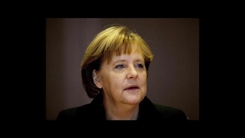 Davos, Merkel terrà discorso inaugurale World economic forum