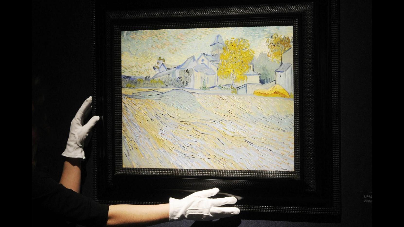 Opere d'arte di Liz Taylor vendute all'asta, anche un Van Gogh