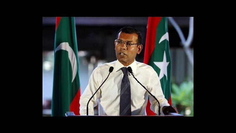 Rivolta polizia, presidente Maldive lascia