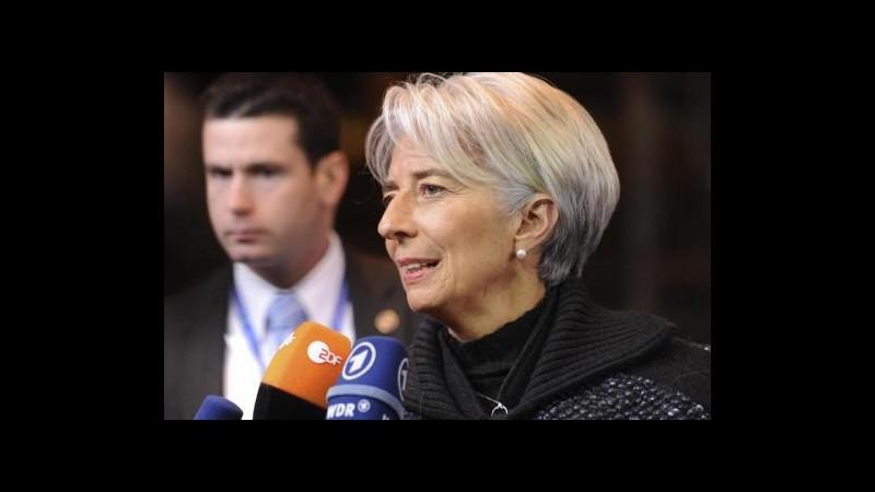 Lagarde: Firewall chiaro e semplice per riportare fiducia nell'eurozona