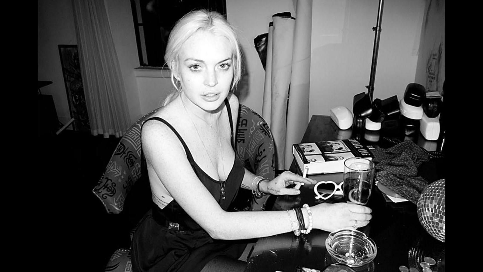 Lindsay Lohan scelta come volto di Liz Taylor