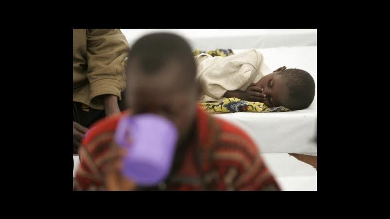 Repubblica Congo, in ultimi mesi 340 casi colera, 9 morti da giugno