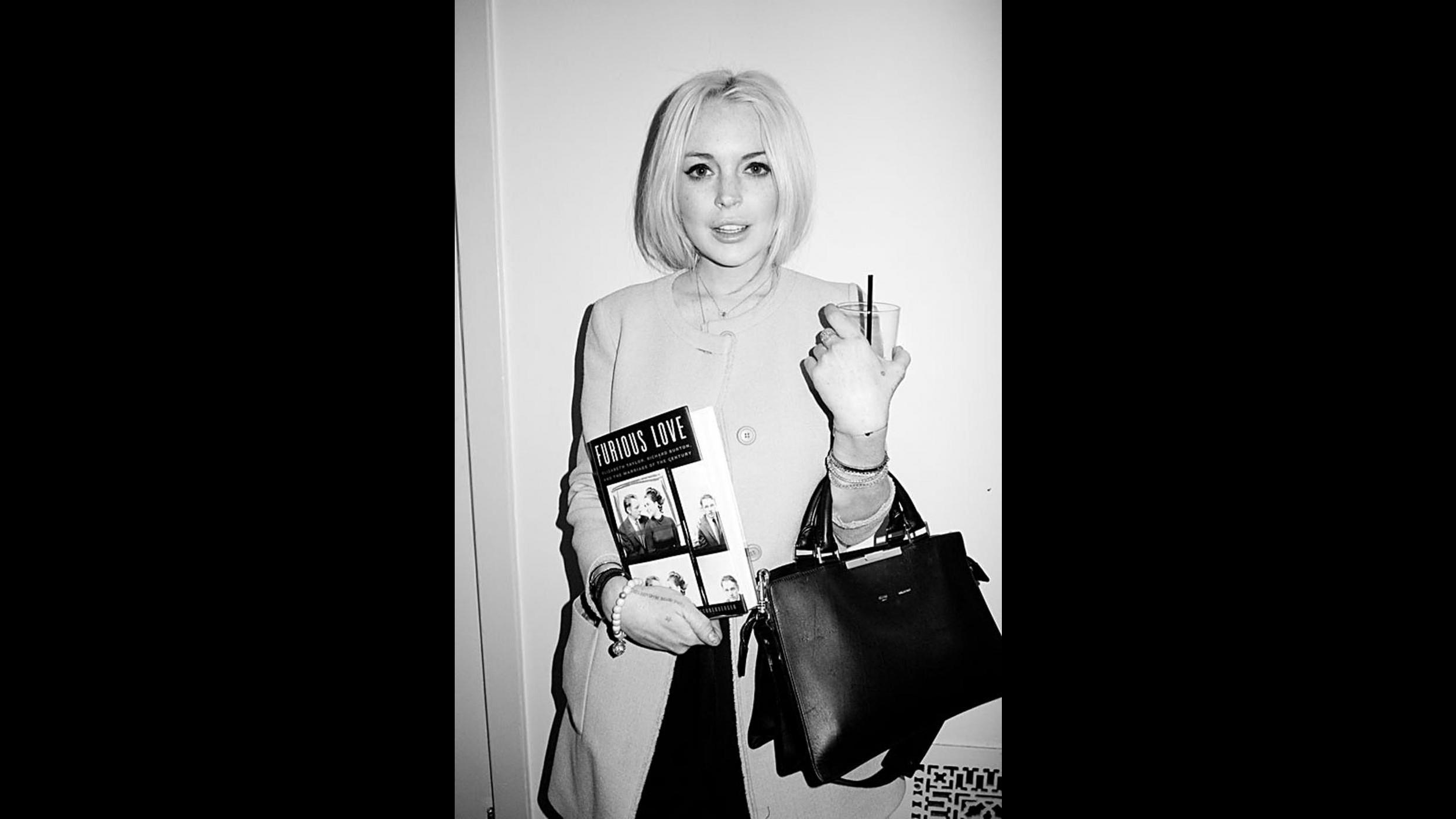 Lindsay Lohan usa un anello di Liz Taylor per immedesimarsi nel ruolo