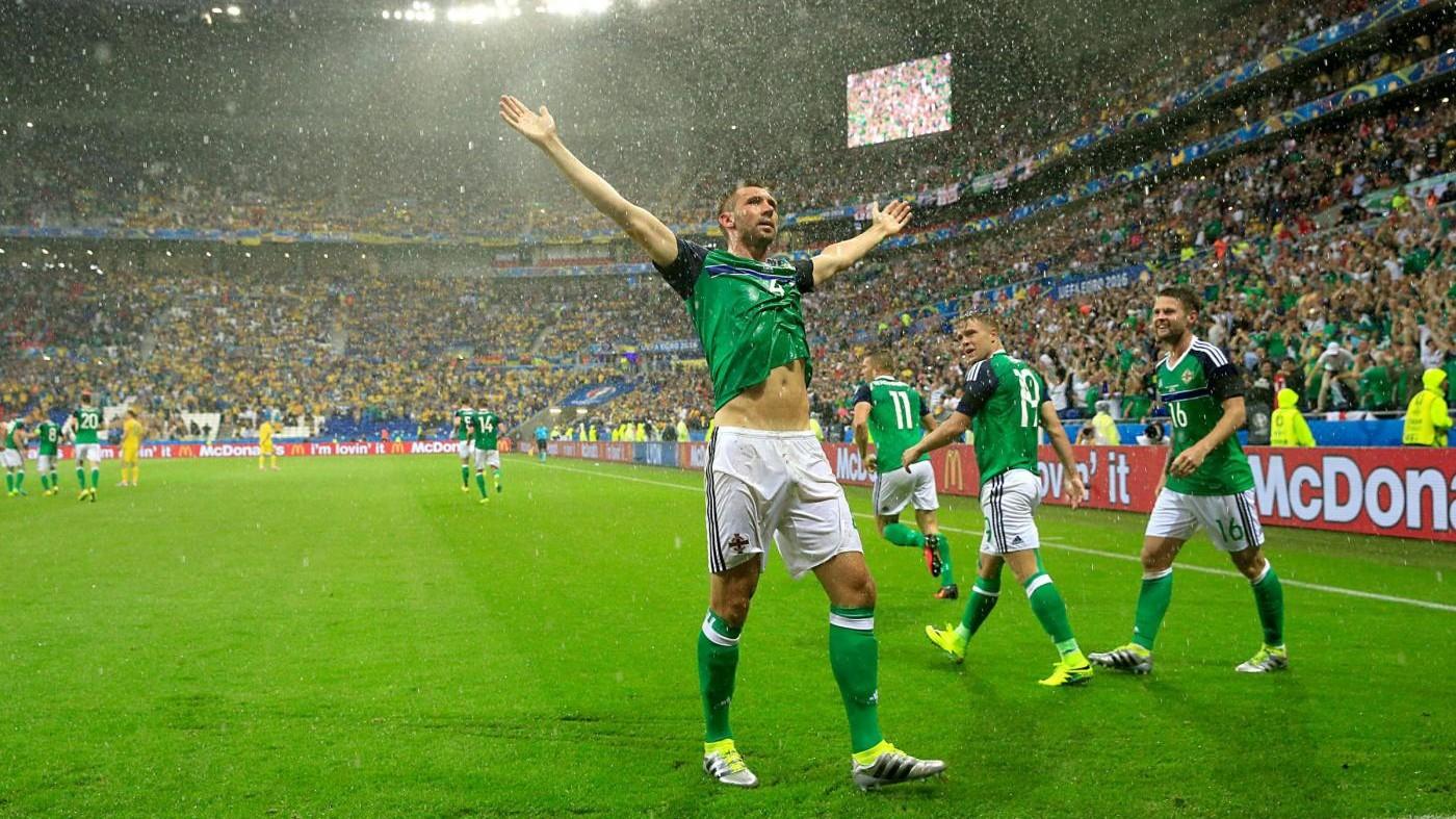 Euro 2016, exploit Irlanda del Nord: 2-0 contro Ucraina, fuori