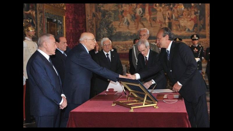 Governo, Palma e Bernini ministri, Belcastro sottosegretario Ambiente