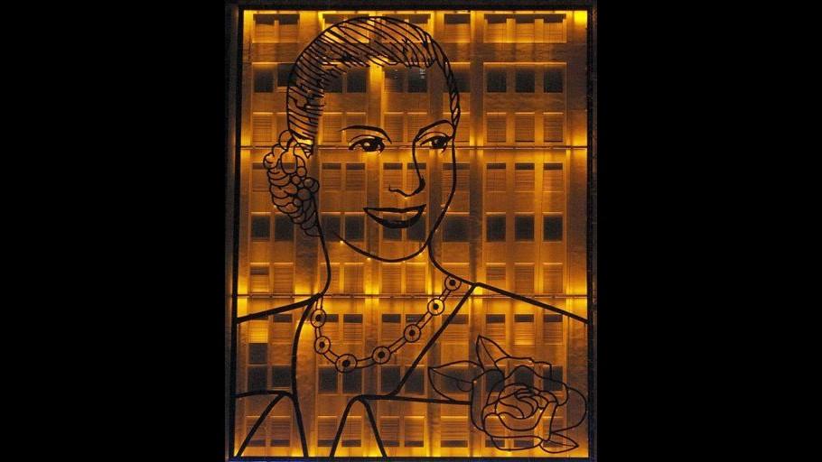 Inaugurato a Buenos Aires maxi ritratto di Evita Peron
