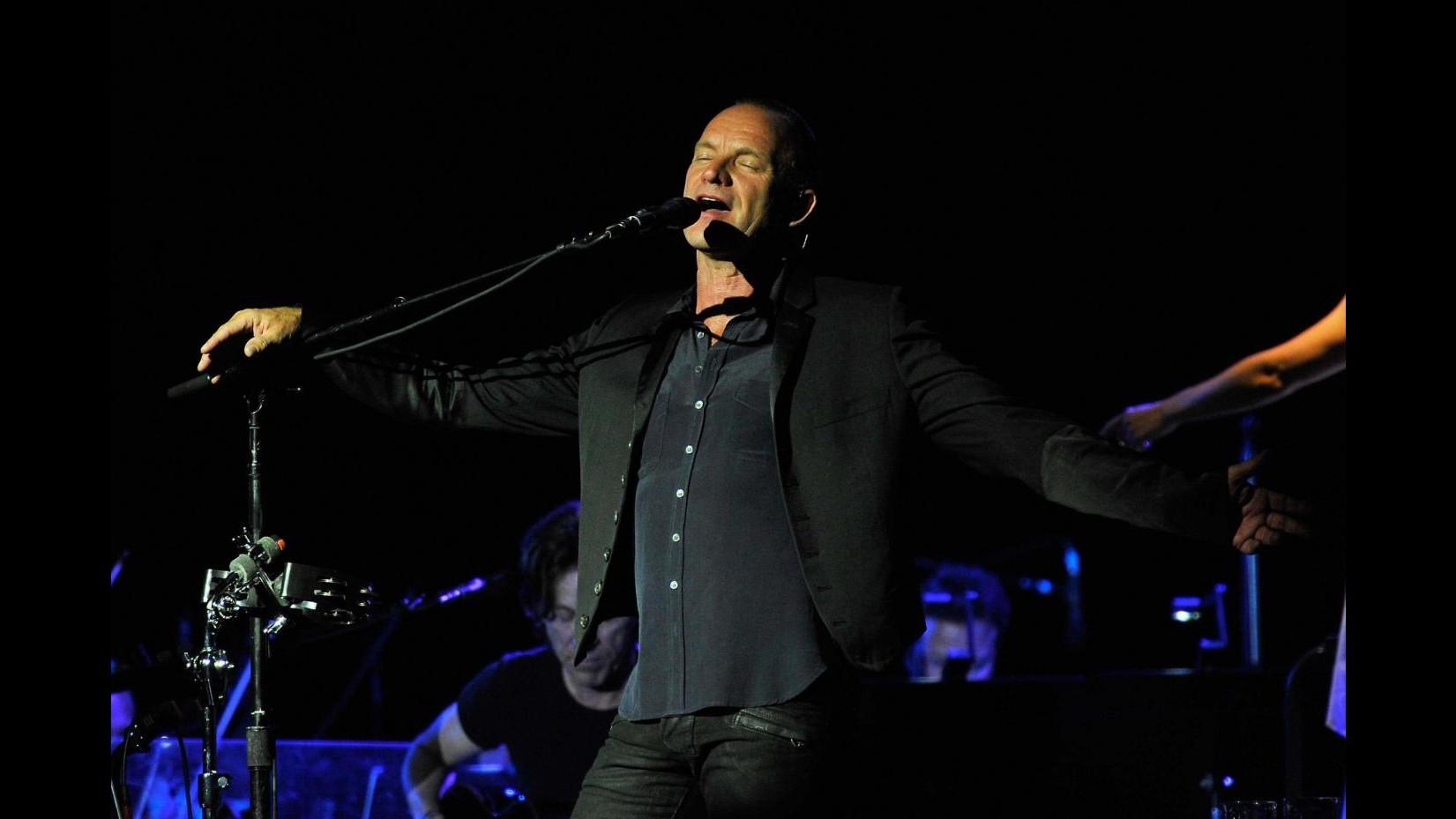 Sting in concerto a Montecarlo con la Royal Philharmonic Orchestra