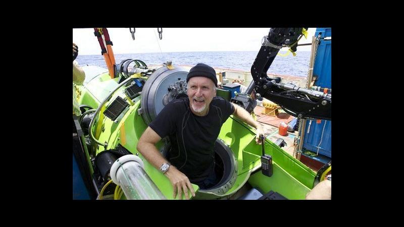 James Cameron e l'immersione in Fossa delle Marianne: Un altro pianeta