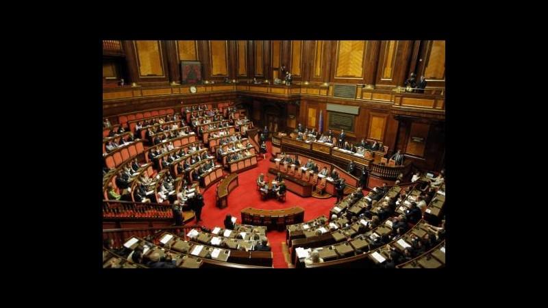 Manovra domani in Senato, da contributo solidarietà 3,8 mld