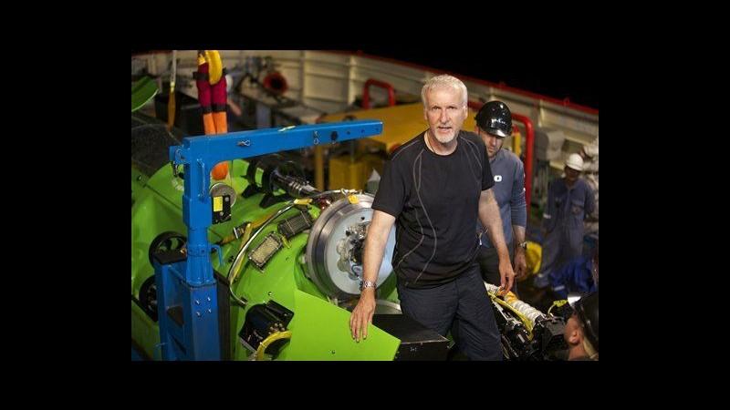 James Cameron riemerge da abissi dopo missione in Fossa delle Marianne