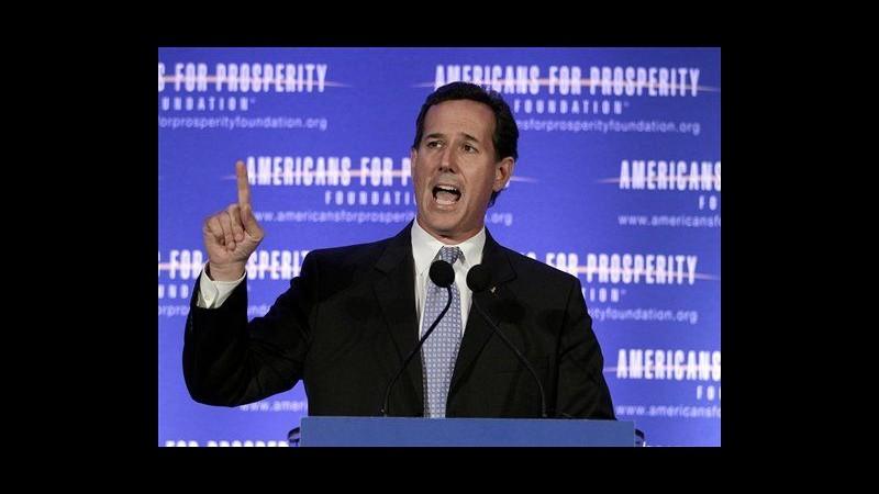 Usa 2012, Santorum vince in Louisiana
