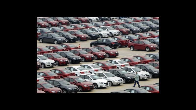 Mercato auto, immatricolazioni Italia +1,51% ad agosto