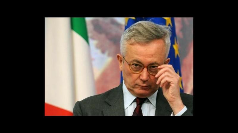 Tremonti a Rimini: Tempo degli Eurobond sta arrivando