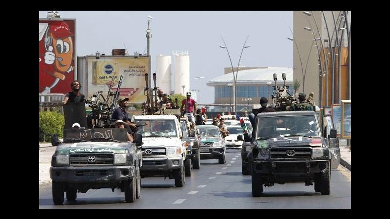 Libia, anche 3 italiani nelle prigioni del rais, liberati