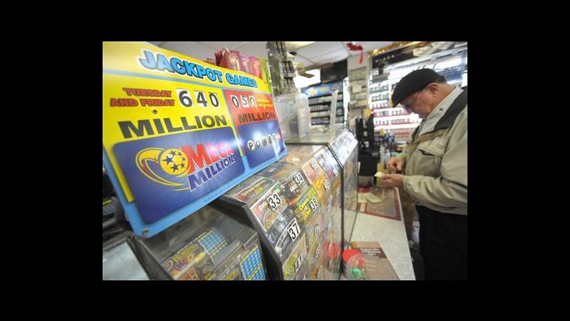 Usa, vinto jackpot record da 640 mln: 3 i biglietti vincenti