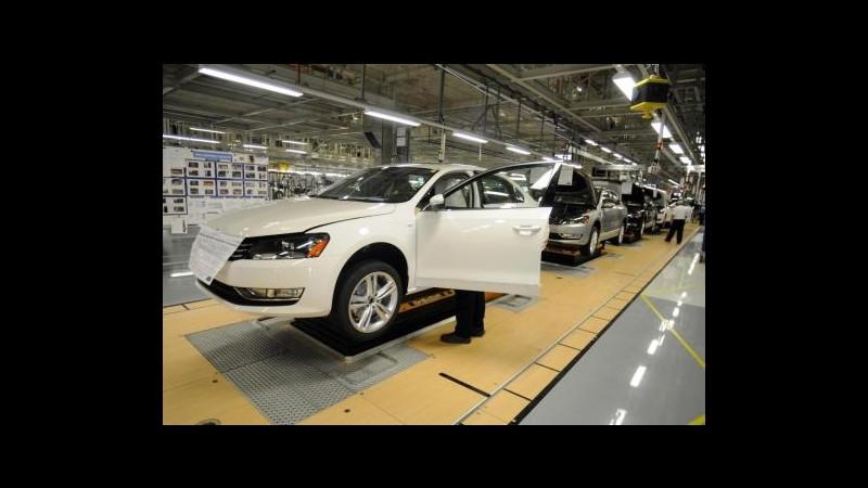 Porsche -10,8% in Borsa, fusione con Volkswagen non prima del 2012