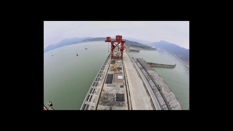 Cina, frane a diga Tre gole: rischio evacuazione per 100mila persone