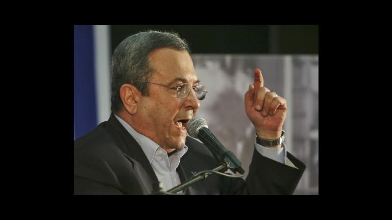 Iran, Barak: Israele non ha mai promesso a Usa che non attaccherà