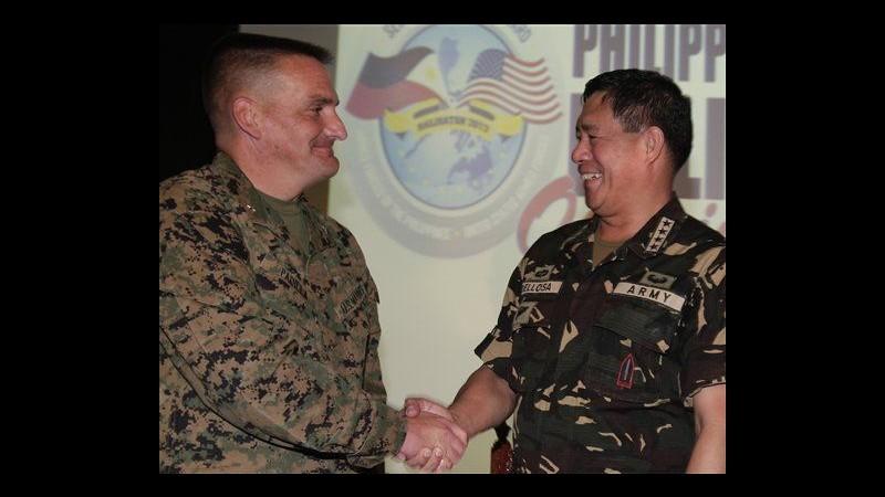 Filippine, al via esercitazioni militari con Usa vicino area contesa