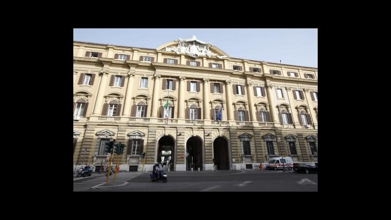 Tesoro taglia stime Pil Italia, ma conferma pareggio bilancio nel 2013