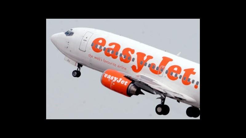 EasyJet, cresce stima degli utili con ricavi +3% per posto offerto