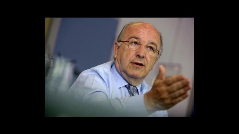 Almunia (Ue): Estesa scadenza regole 'soft' su aiuti statali banche