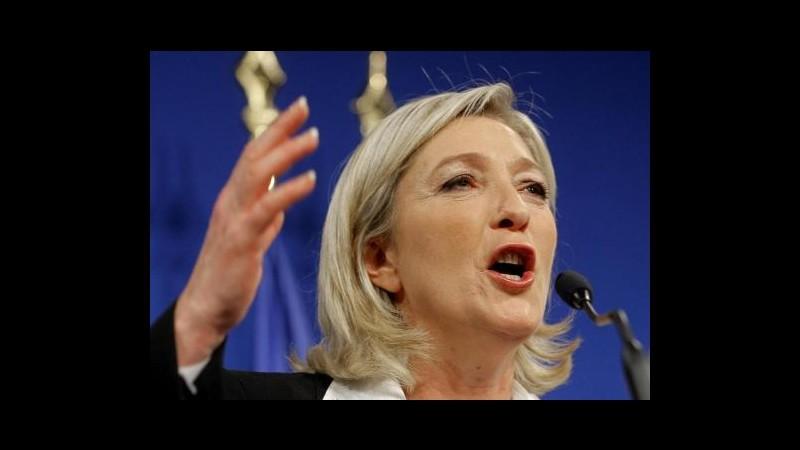 Francia 2012, Le Pen: Voterò scheda bianca