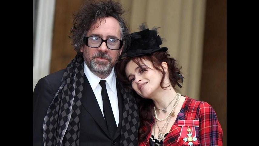 Tim Burton, cartellino rosso se Helena Bonham Carter si comporta male
