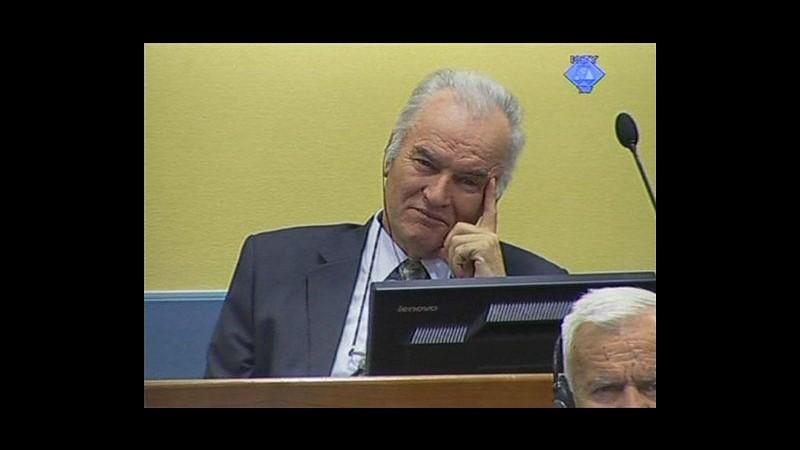 Mladic, giudice sospende processo per errori della procura