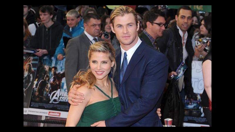 Chris Hemsworth e Elsa Pataky neogenitori, la bimba si chiama India