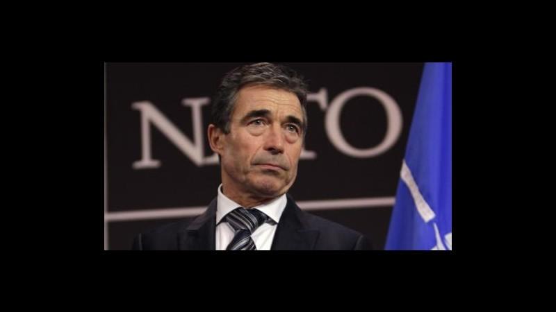Libia, Rasmussen: Operazioni Nato termineranno il 31 ottobre