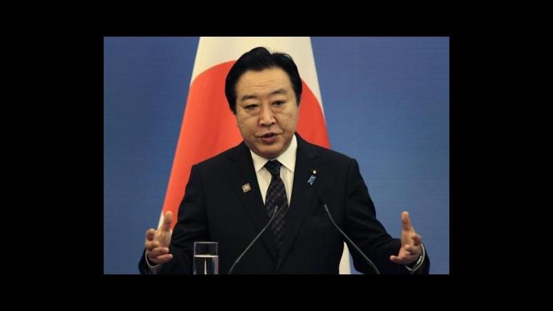 Giappone, premier Noda e ministri si dimettono in vista di rimpasto