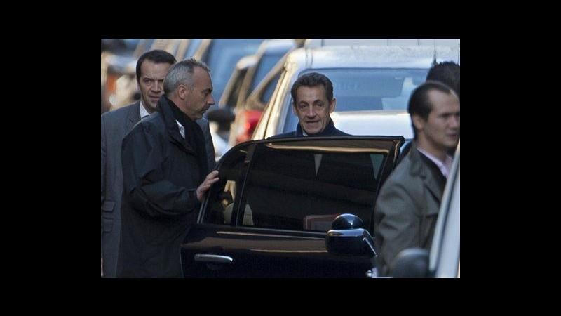 Francia, Sarkozy conferma nascita figlia: Carla e bimba stanno bene