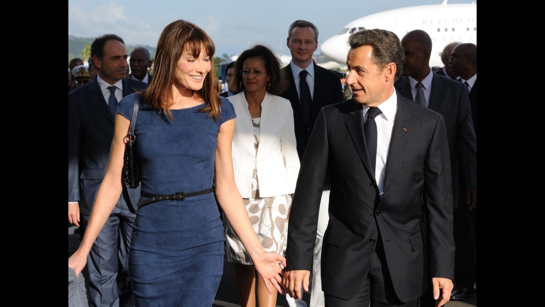 Nata la bambina di Carla Bruni e Sarkozy