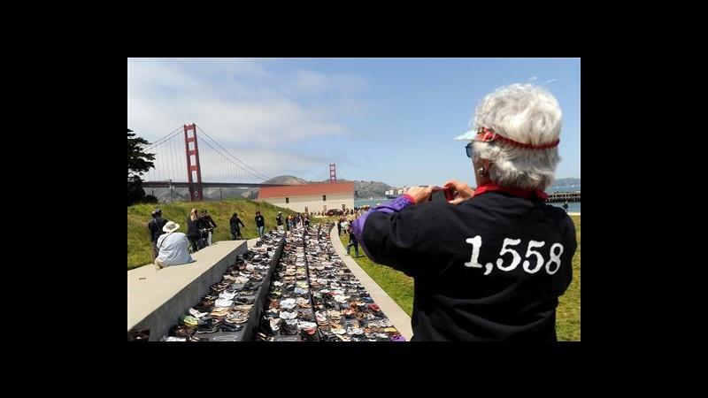 Usa, per 75°compleanno Golden Gate feste e ricordo dei 1.558 suicidi