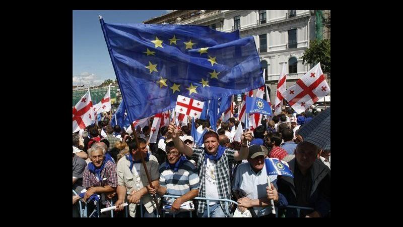 Georgia, in 40mila alla marcia di Ivanishvili: Kaladze apre corteo