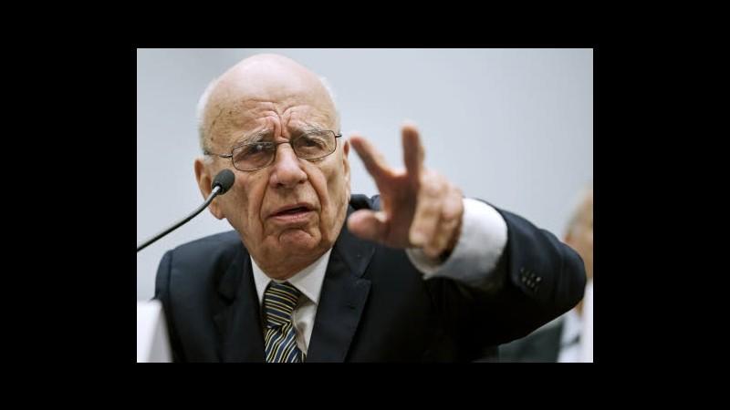 Usa, Murdoch contestato a San Francisco prima di conferenza istruzione