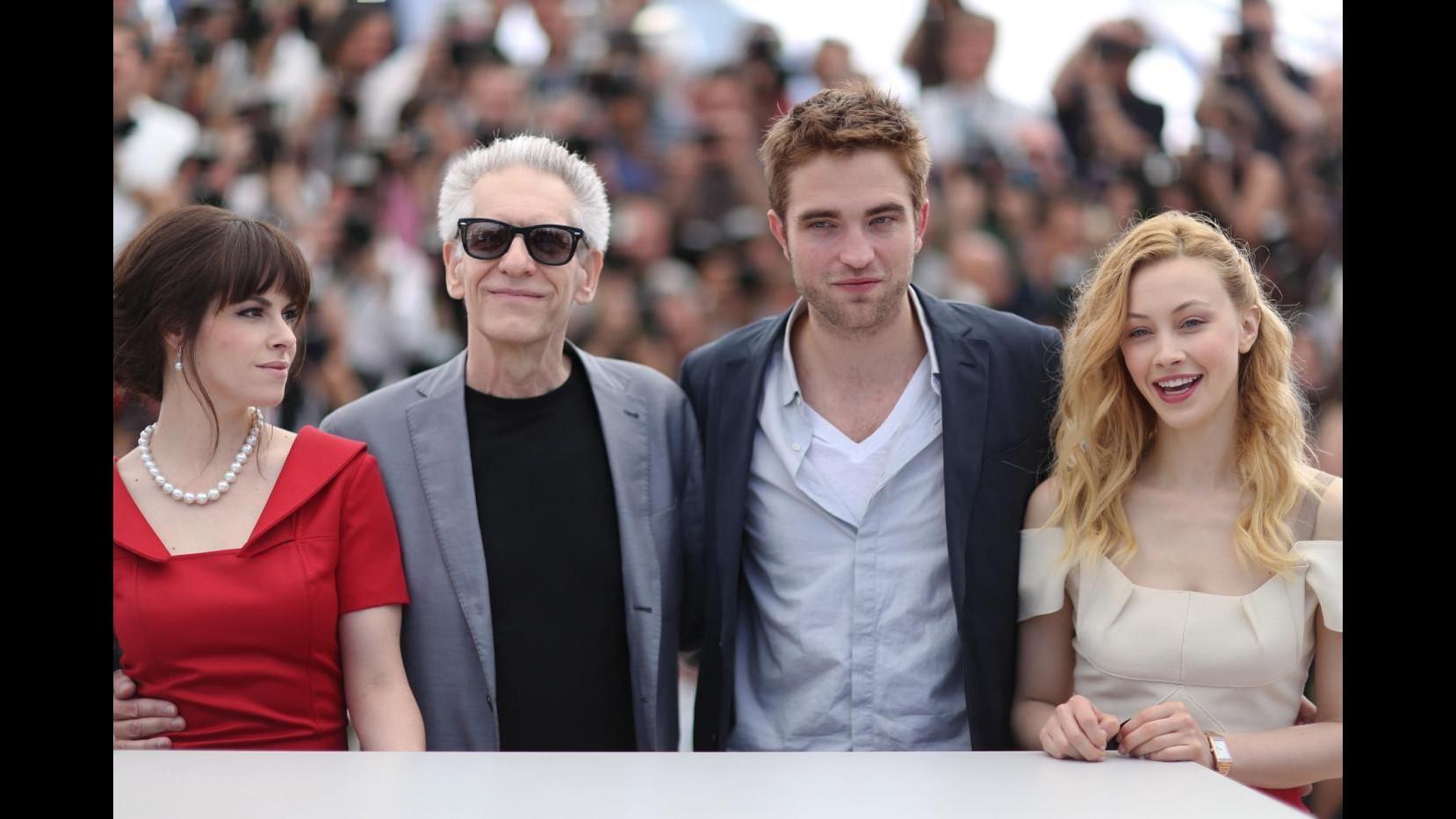 Cannes, oggi Robert Pattinson e David Cronenberg con 'Cosmopolis'
