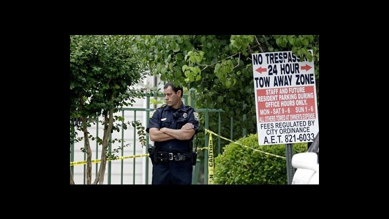Usa, 3 morti in sparatoria campus Alabama, 2 erano giocatori football