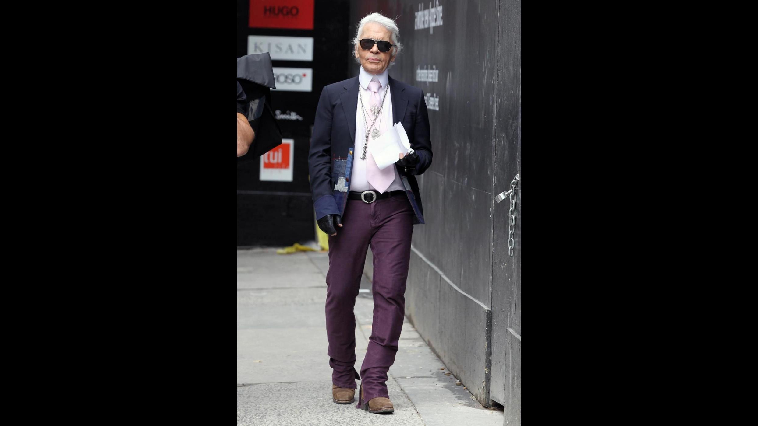 Karl Lagerfeld: Soddisfatto dell'abito da sposa di Drew Barrymore