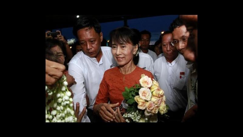 Birmania, Suu Kyi: Continuerò a non usare nome Myanmar