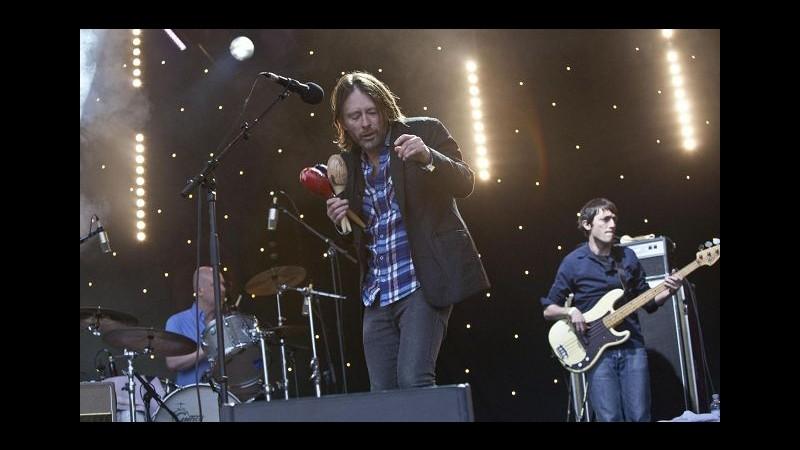 Radiohead, nuovi biglietti disponibili per 25 settembre a Bologna