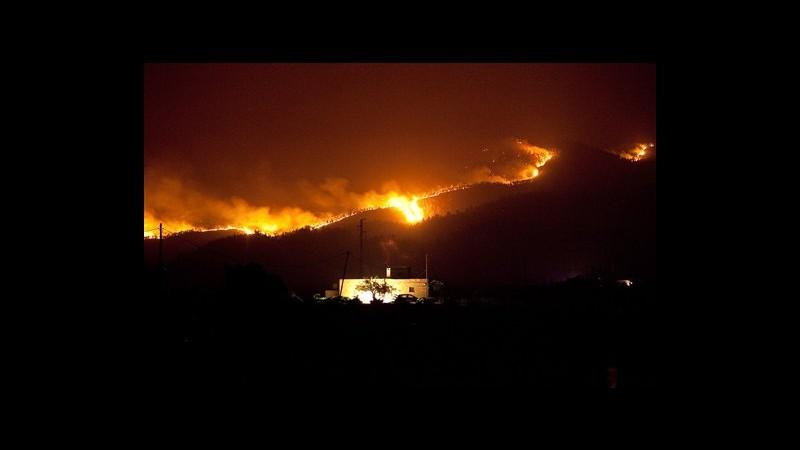 Spagna, incendi a Tenerife: 2mila persone lasciano le proprie case