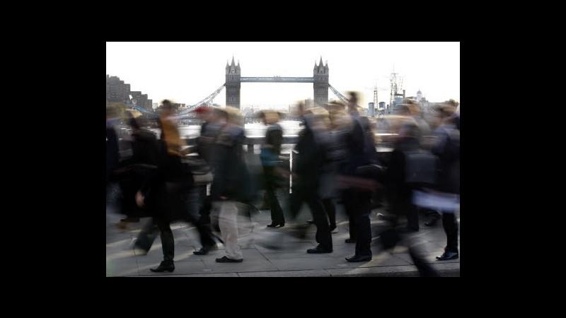Regno Unito, disoccupazione cala all'8,1% in marzo-maggio