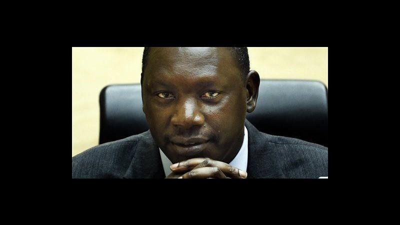 Congo, Corte Aia condanna Lubanga a 14 anni per bambini soldato