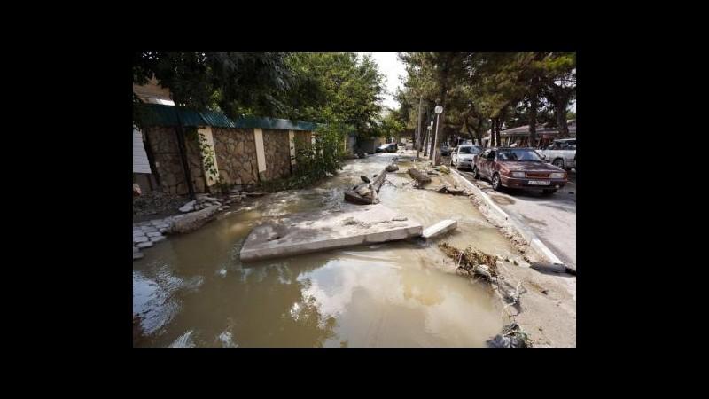 Russia, oltre 100 morti per alluvioni sul mar Nero