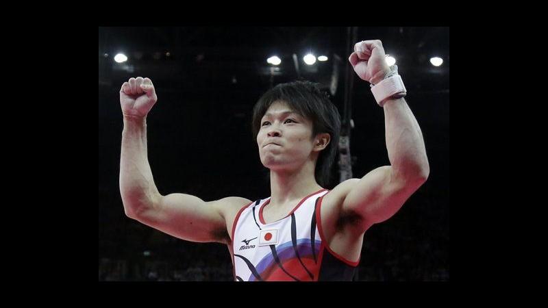 Londra 2012, ginnastica: Giapponese Uchimura oro nell'individuale