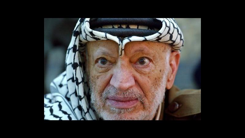 Vedova Arafat presenta in Francia richiesta di indagine per omicidio